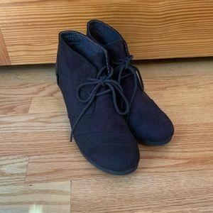 Bongo heeled booties